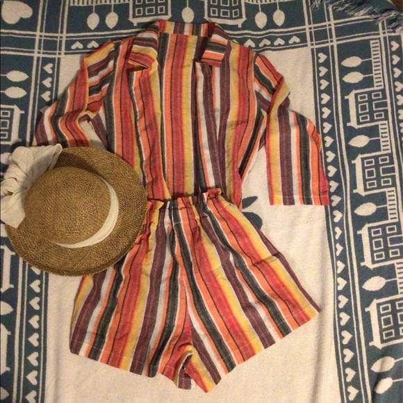 Summer Short w/ Blazer Outfit